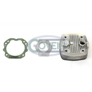 Glava kompresorja in plošča z ventili