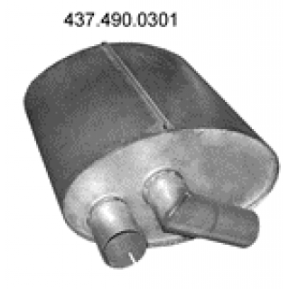 Izpušna cev 437.490.0301